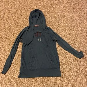 Size M Juicy Couture Tunic Hoodie